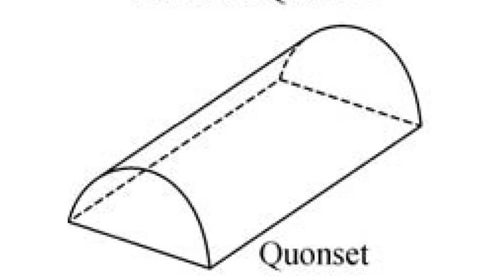 nhà kính kiểu mái vòm quonset